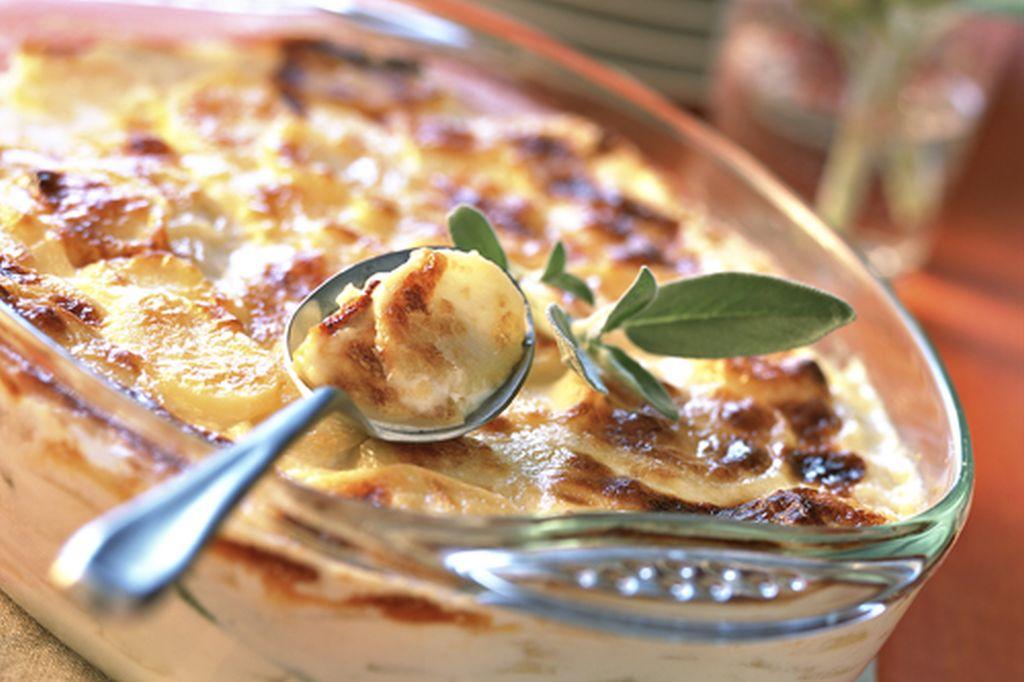 Rakott Krumpli Brie sajttal