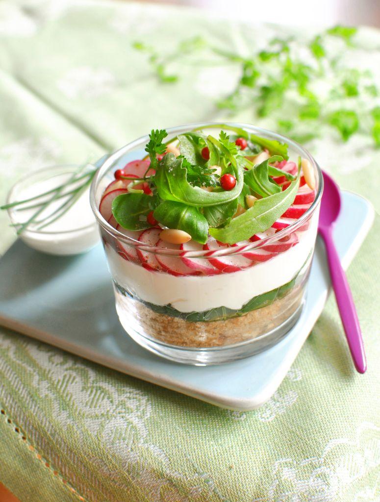 Zöldséges sajttorta kecskesajttal