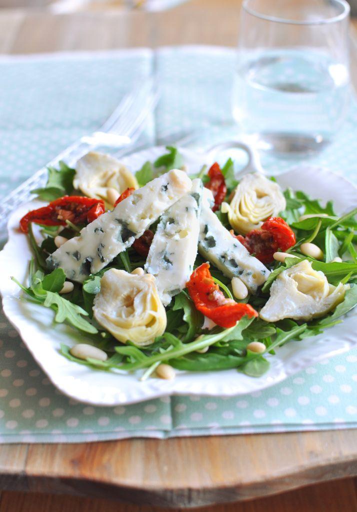 Olasz kéksajtos saláta