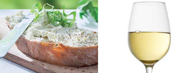 Rondelé Fokhagymás-Zöld Fűszeres & Cotes de Provence Blanc